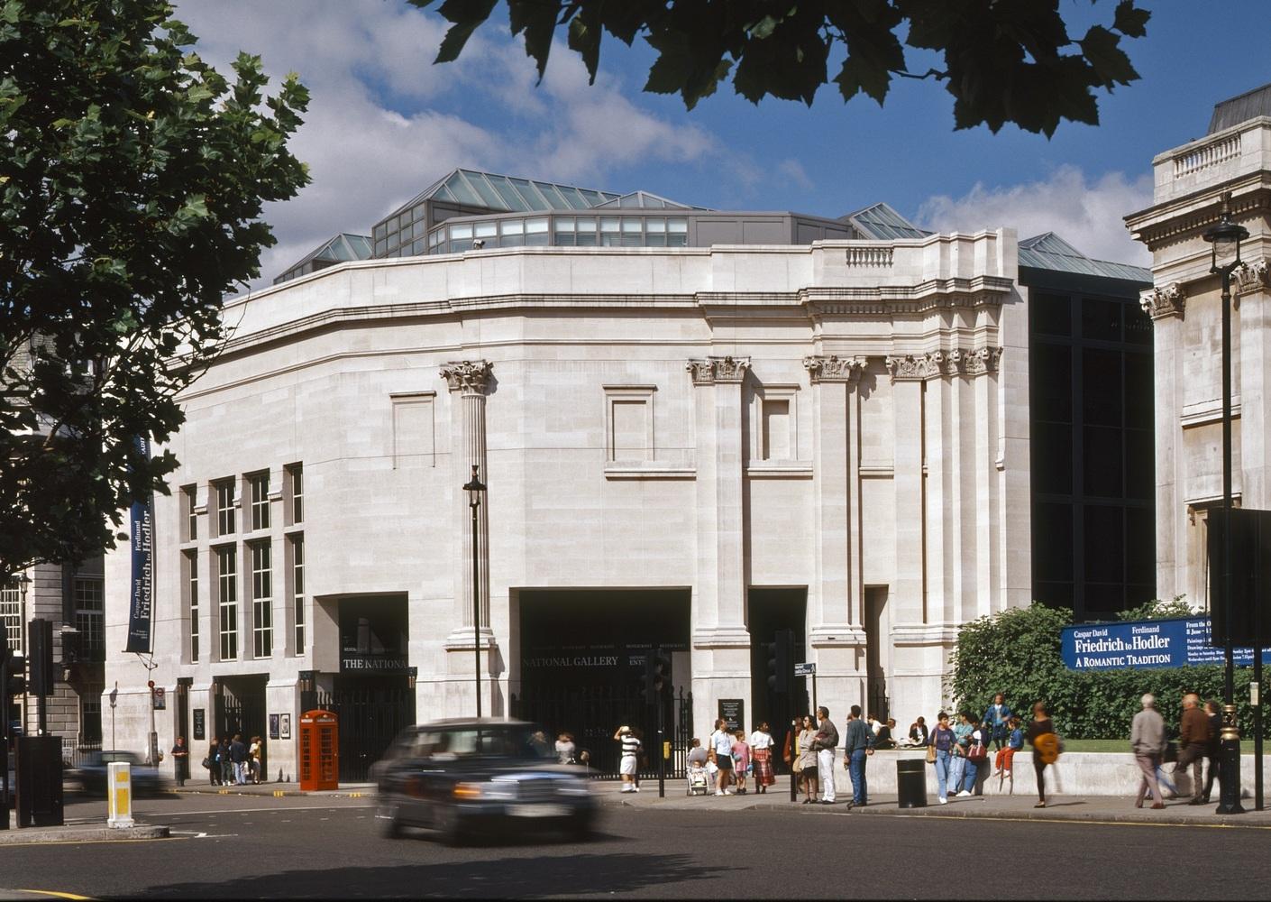 Robert Venturi: Sainsbury Wing (Anexo da Galeria Nacional de Londres)