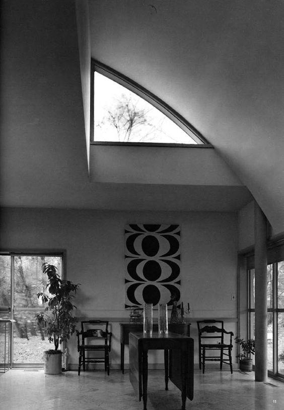 Robert Venturi: Vana Venturi House (interior)