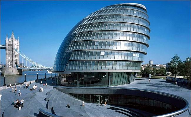 Arquitetura High Tech: Prefeitura de Londres