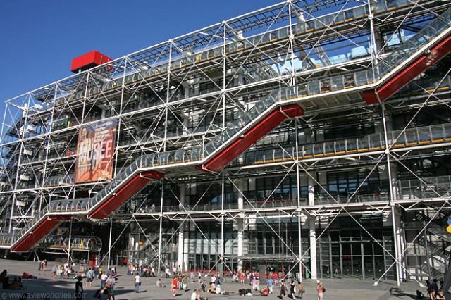 Arquitetura High Tech: Centro Georges Pompidou