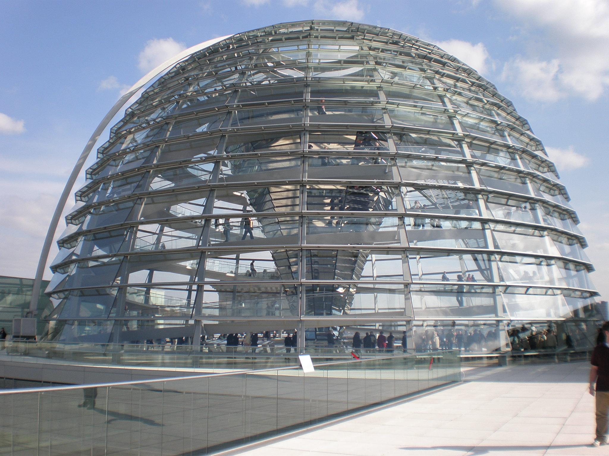 Arquitetura High Tech: Cúpula de Reichstag