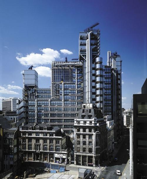 Arquitectura de alta tecnología: Lloyd's Bank