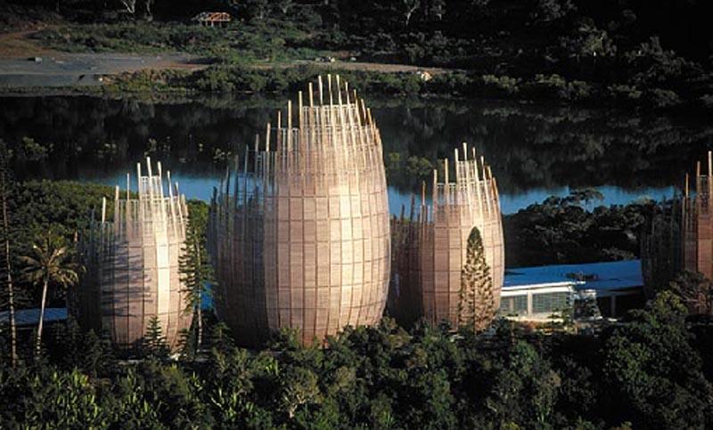 Arquitetura High Tech: Centro cultural Tjibaou