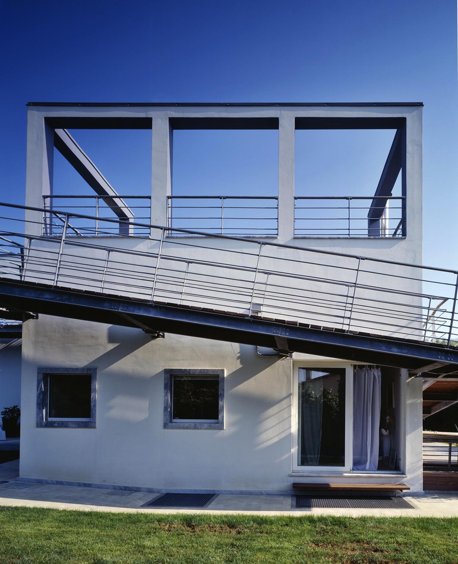 Arquitetura italiana: casa projetada por Giuseppe Raboni