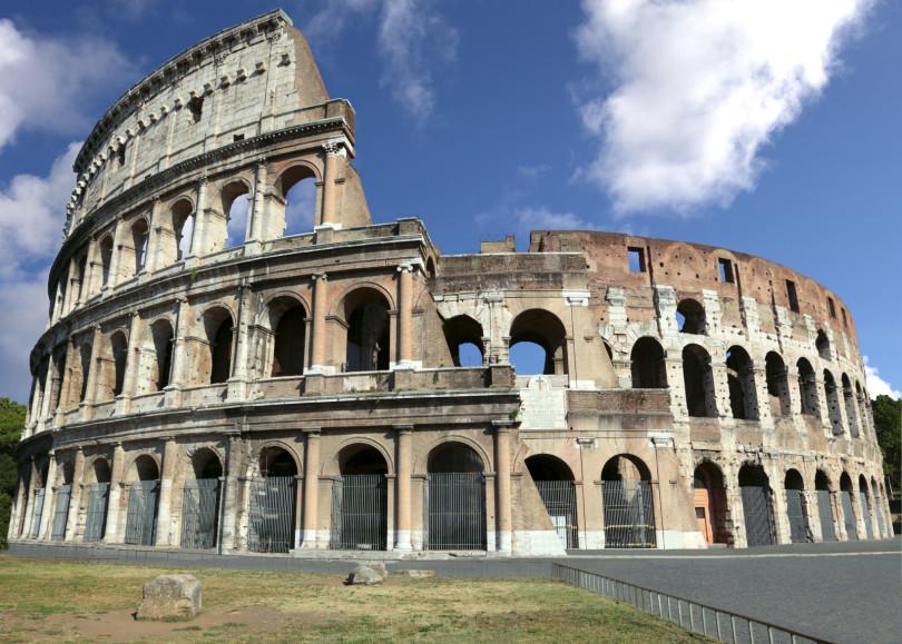 arquitetura italiana coliseu