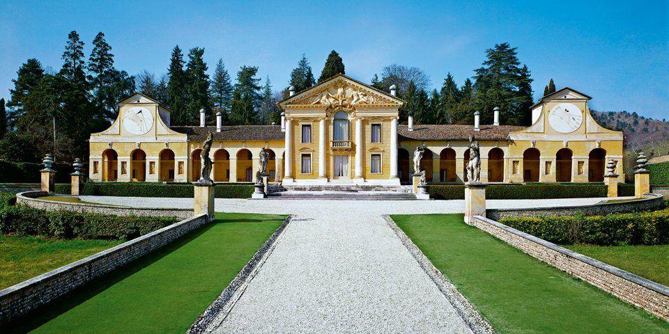 arquitetura italiana vila barbaro