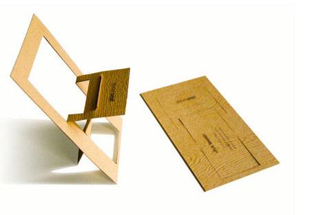 cartão de visita design de interiores cadeira