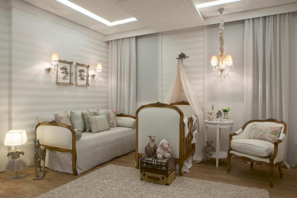 iluminação para quarto de bebê: lustre