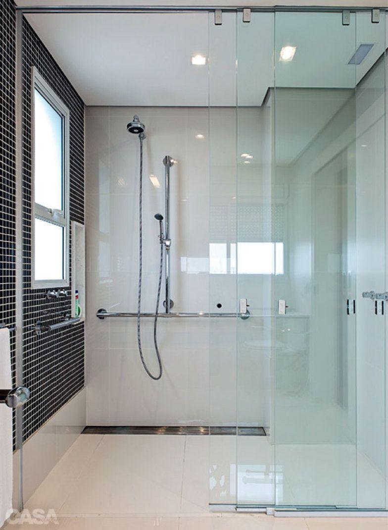 Ideias para box de banheiro: banheiro para cadeirante