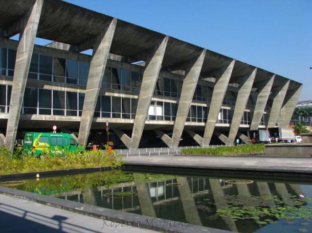 Arquitetura Brutalista: MAM - RJ