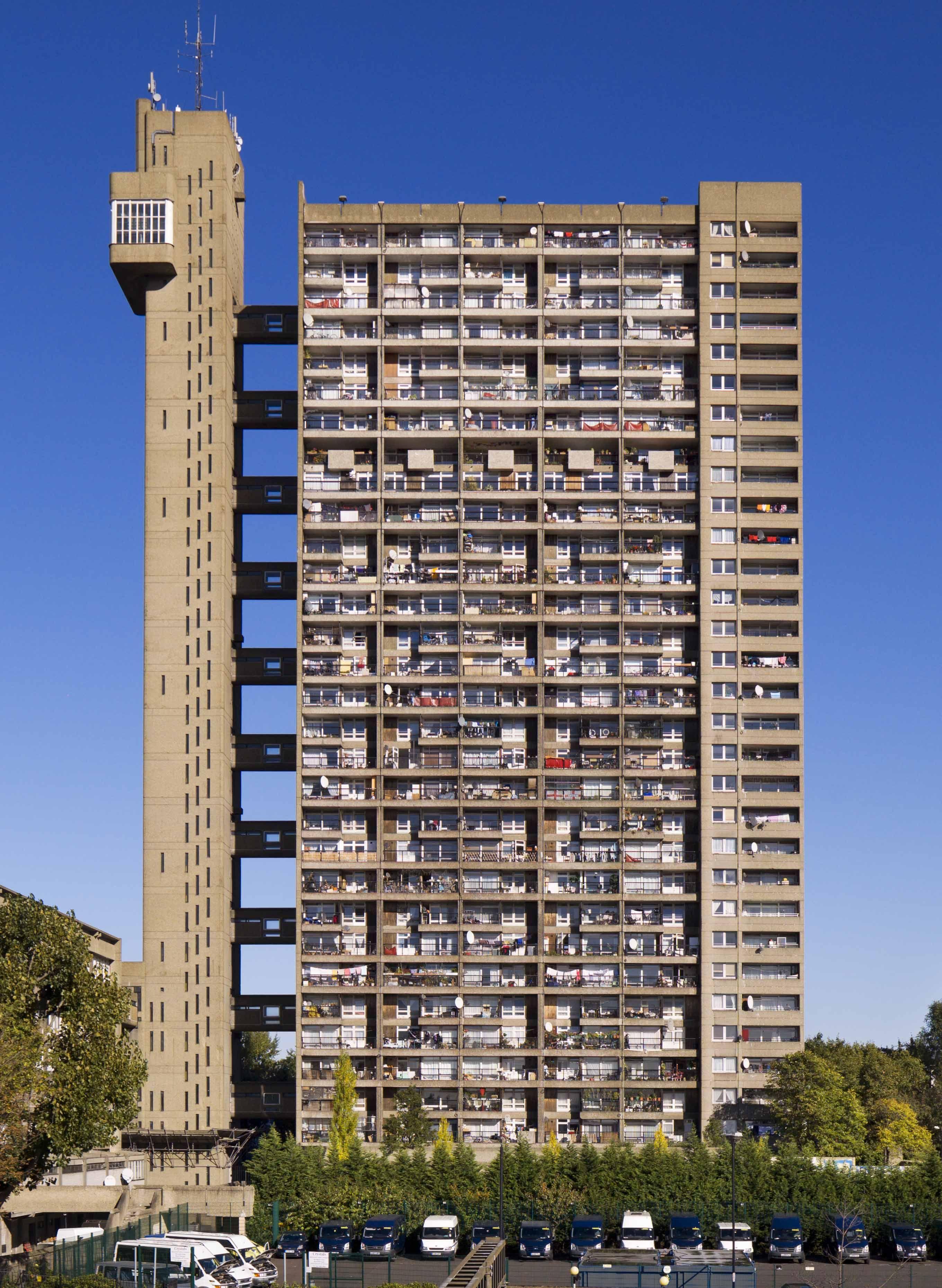Arquitetura Brutalista: Torre Trellick (Reino Unido)