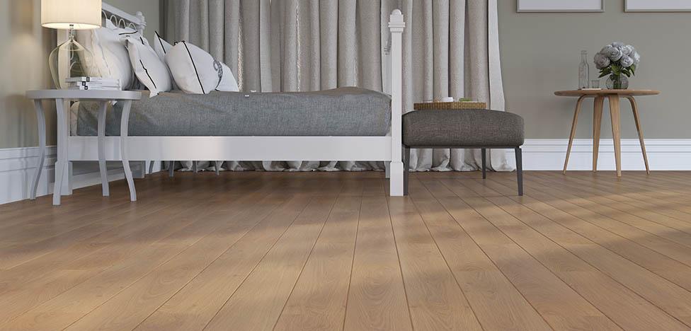 Onde usar piso laminado de madeira: piso laminado de madeira em ambiente residencial