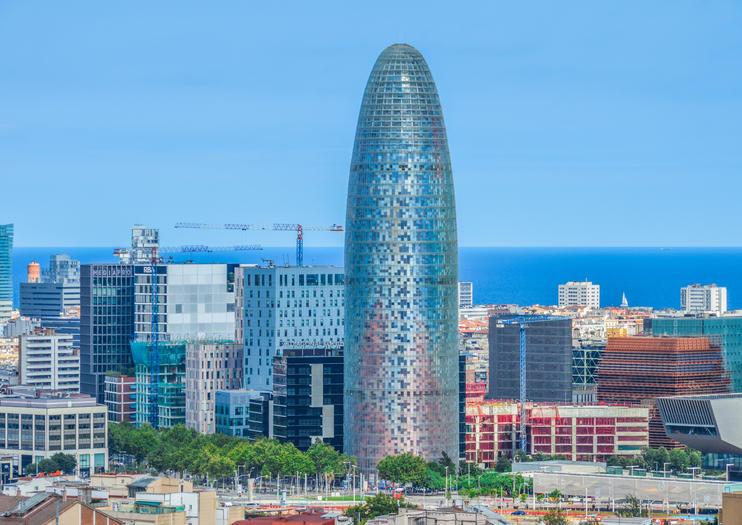 Jean Nouvel: Torre glòries (antiga Torre Agbar)
