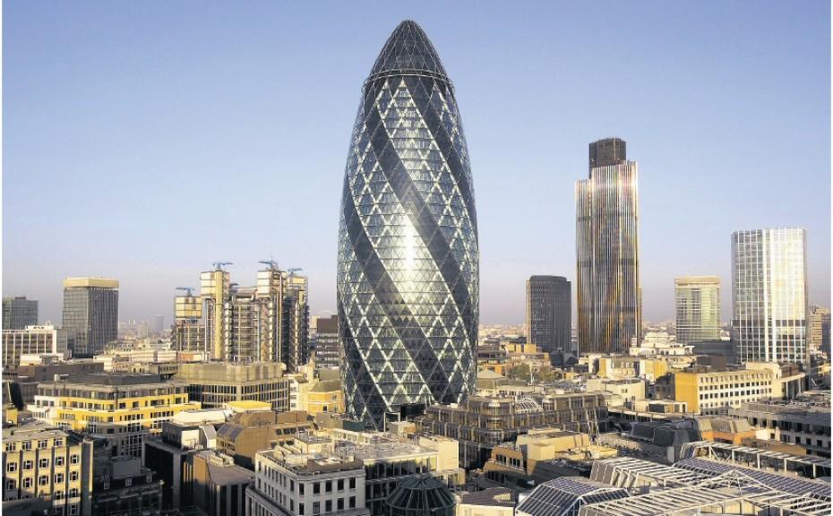 Melhores arquitetos do mundo: 30 St Mary Axe
