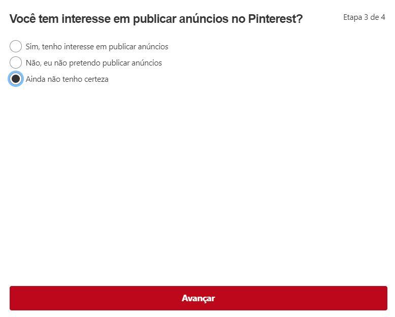 Pinterest para empresas: criando um perfil comercial (etapa 3)
