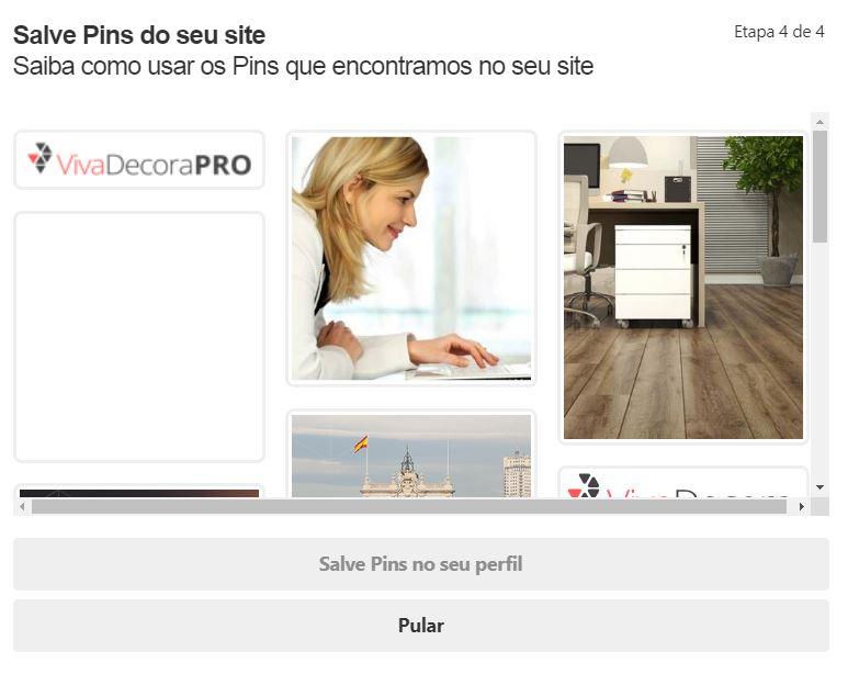 Pinterest para empresas: criando um perfil comercial (etapa 4)
