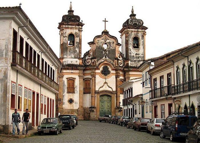 Arquitetura colonial: Igreja Nossa Senhora do Pilar