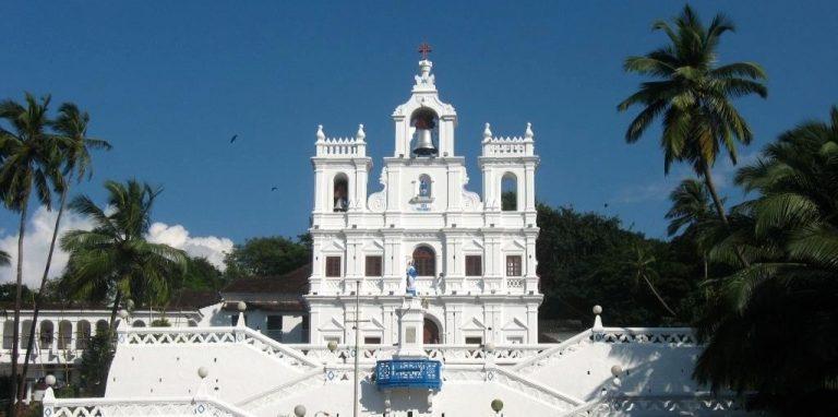 Arquitetura colonial: Igreja de Panjim (Goa)