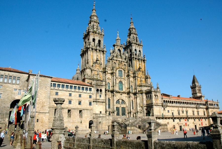 Arquitetura espanhola: Catedral de Santiago de Compostela