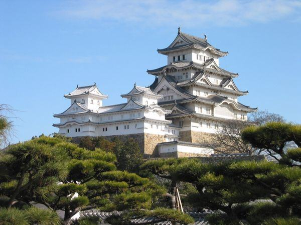 Arquitetura japonesa: Castel de Himeji