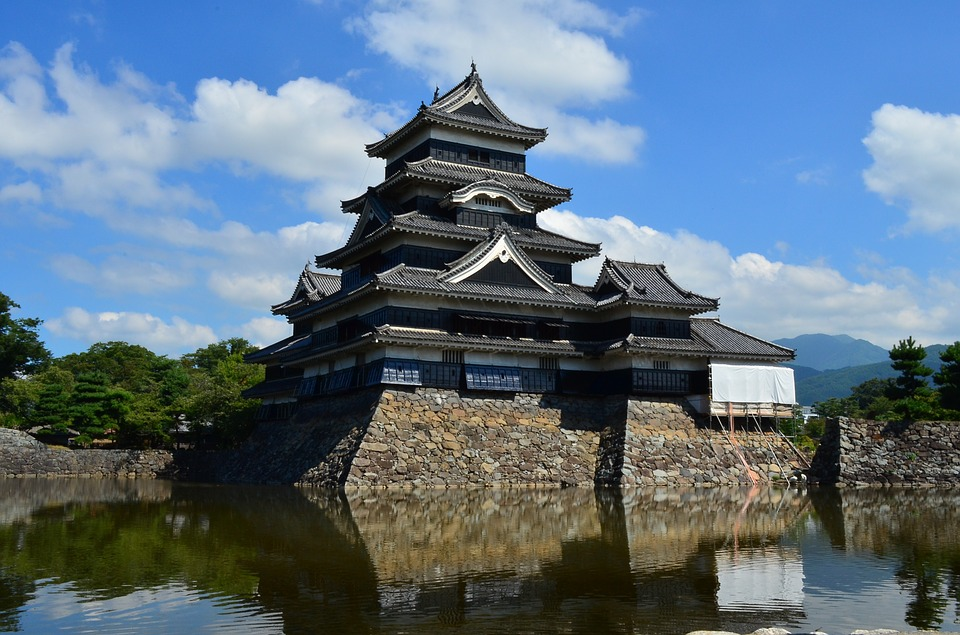Arquitetura japonesa: Castelo de Matsumoto