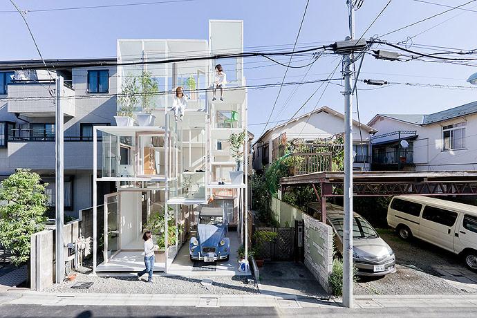 Arquitetura japonesa: casa NA