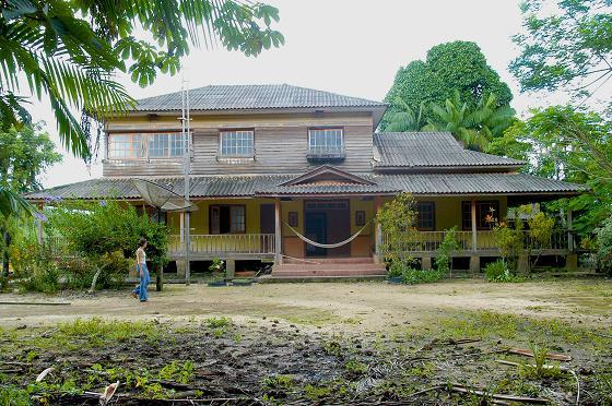 Arquitetura japonesa: casa em Tomé-Açu