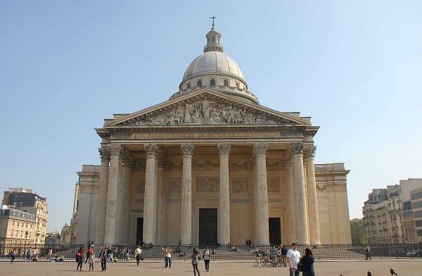 Arquitetura neoclássica: Panteão de Paris
