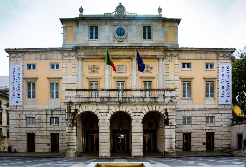 Arquitetura neoclássica: Teatro Nacional de S. Carlos