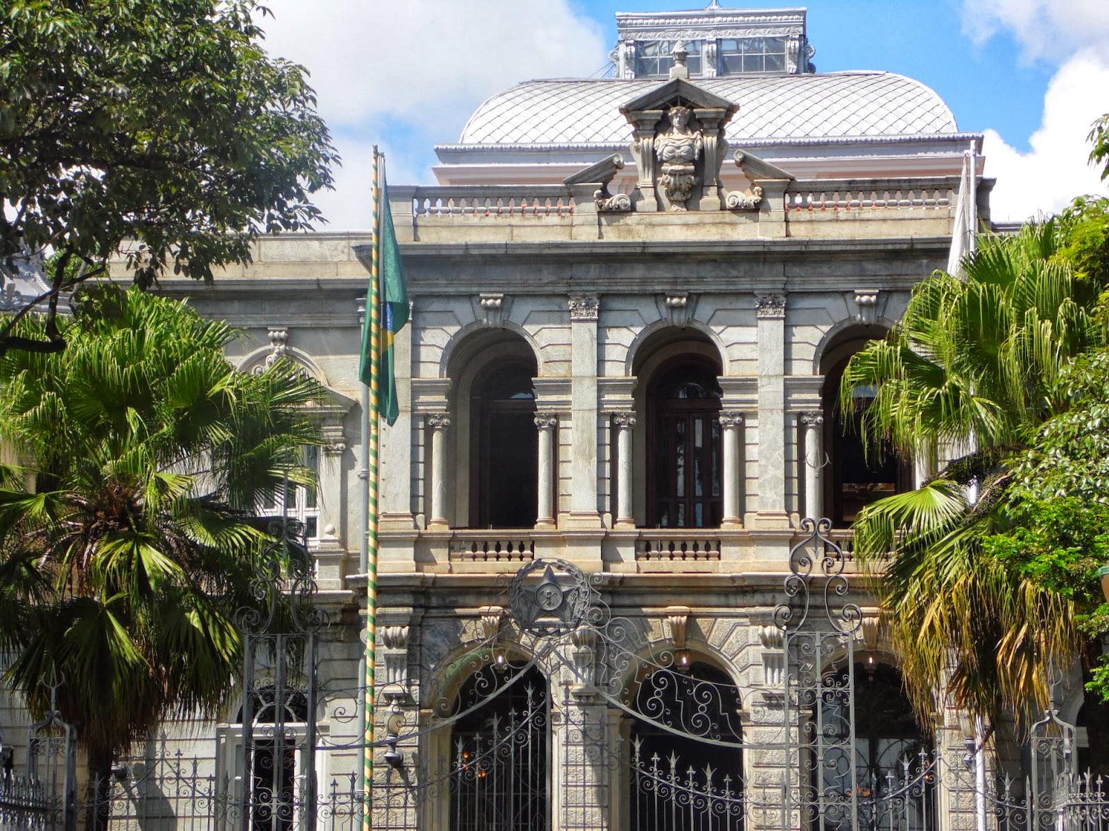 Arquitetura neoclássica: Palácio de Liberdade