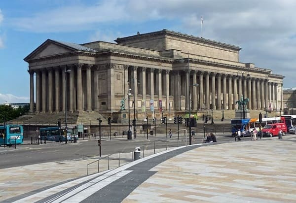 Arquitetura neoclássica: Saint George's Hall