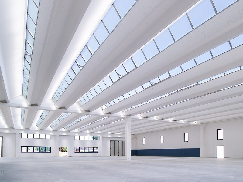 Iluminação zenital: shed