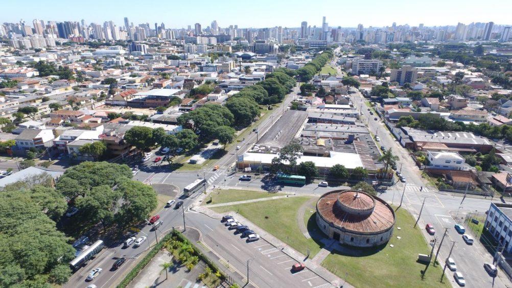 Desenho urbano: desenho urbano de Curitiba