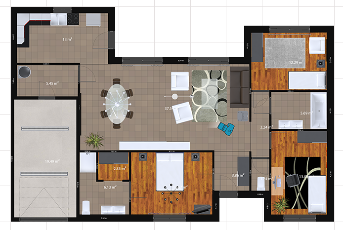 Programa para design de interiores: 3D Spacer Designer