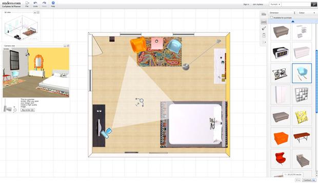Programa para design de interiores: My Deco