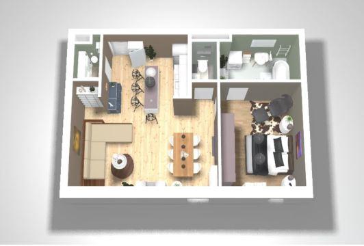 Programa para design de interiores: Roomle