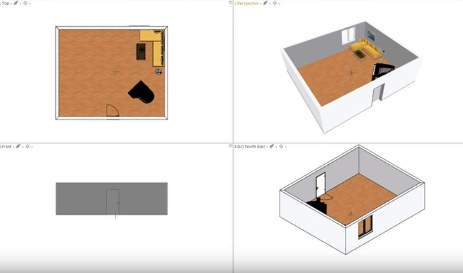 Programa para design de interiores: pCon.planner