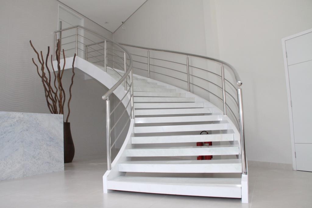 Tipos de escadas: escada circular