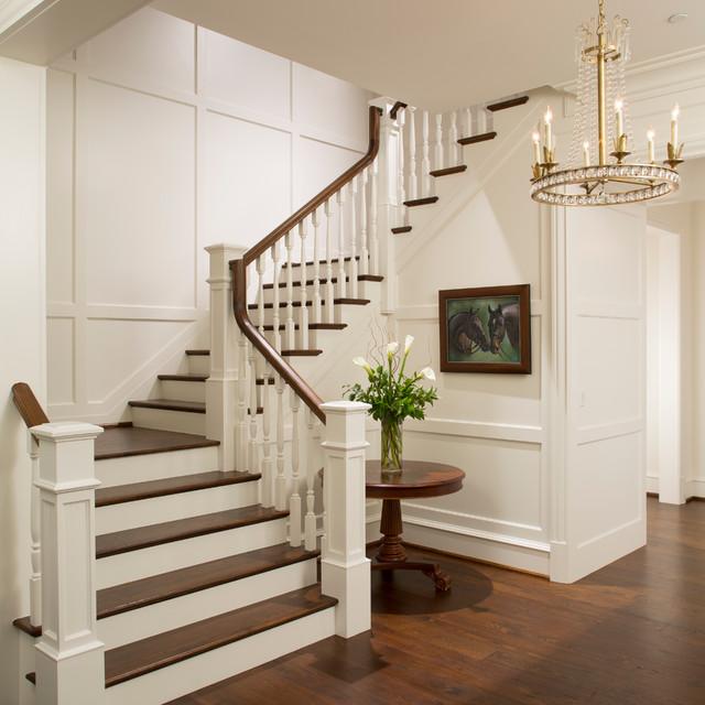 Tipos de escadas: escada em L