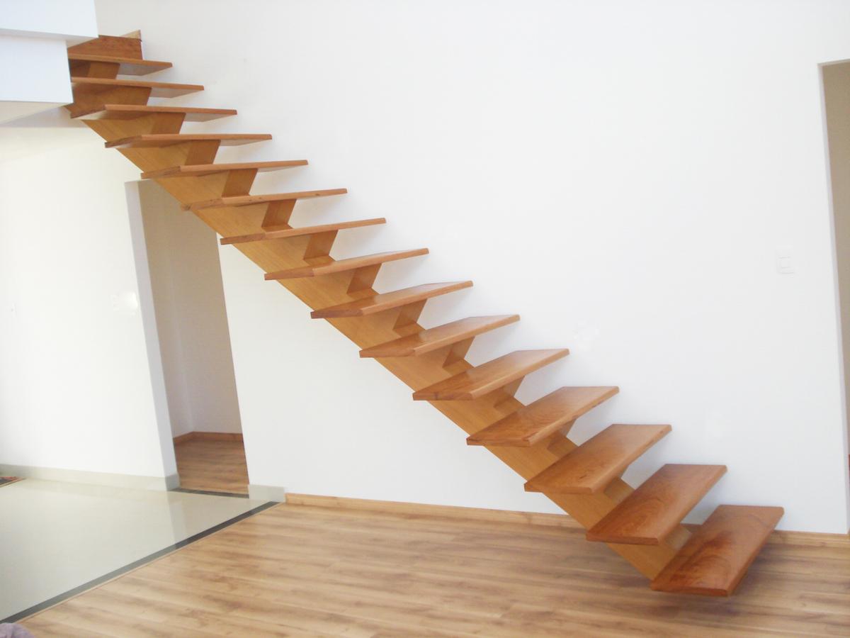 Tipos de escadas: escada reta
