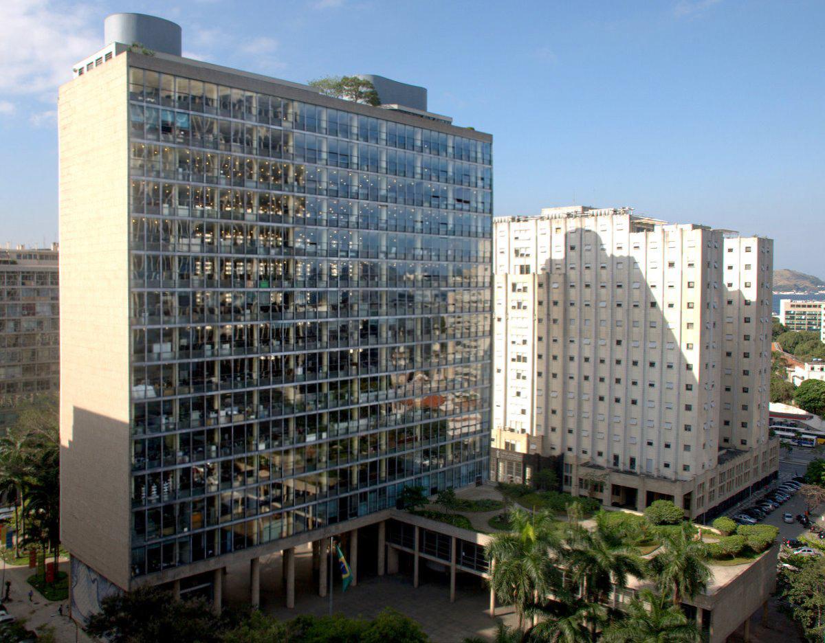 Affonso Eduardo Reidy: Edificio Gustavo Capanema