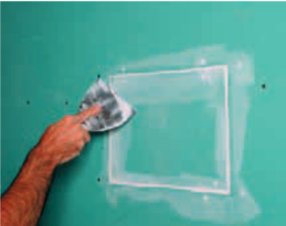 Como reparar drywall: Passo 6 - Acabamento final