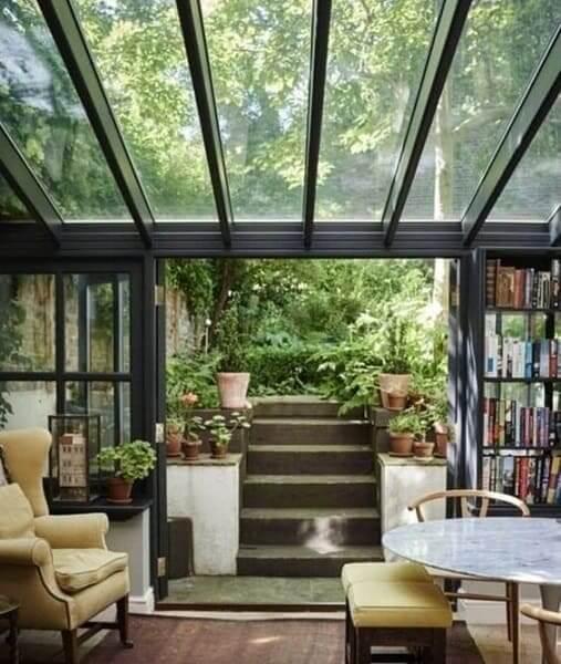 Modelos de telhados de vidro trazem integração com o ambiente externo