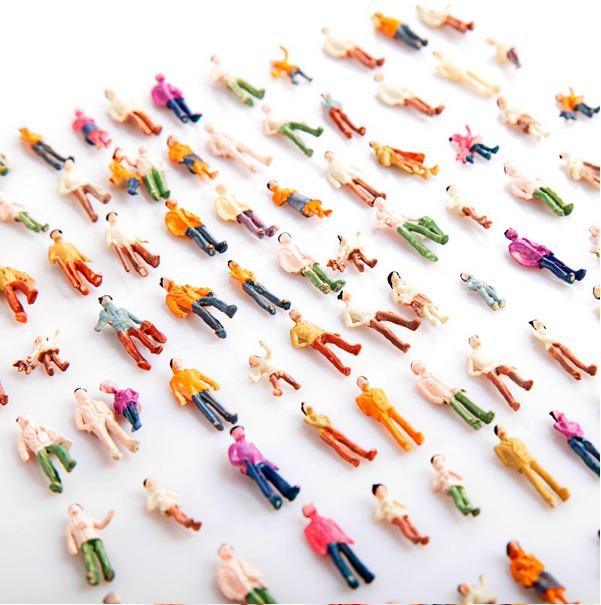 Maquete de arquitetura: miniaturas para maquete de arquitetura