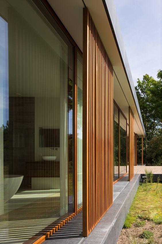 Projeto de casa de praia: brise