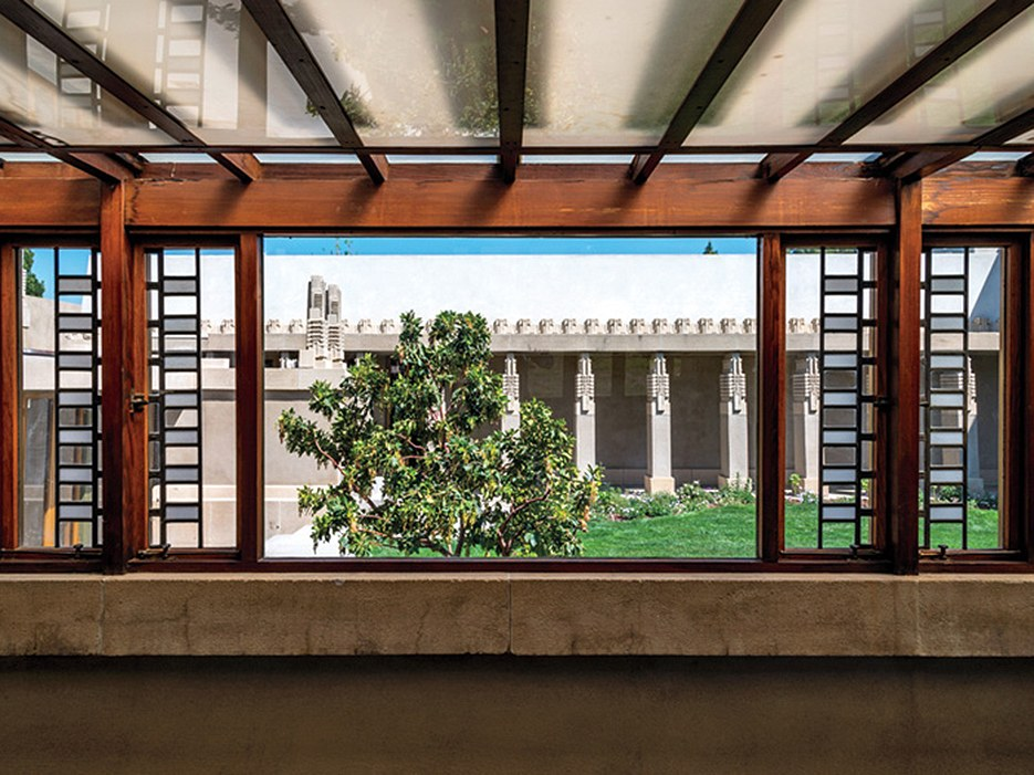 Richard Neutra: pergolado da Hollyhock House