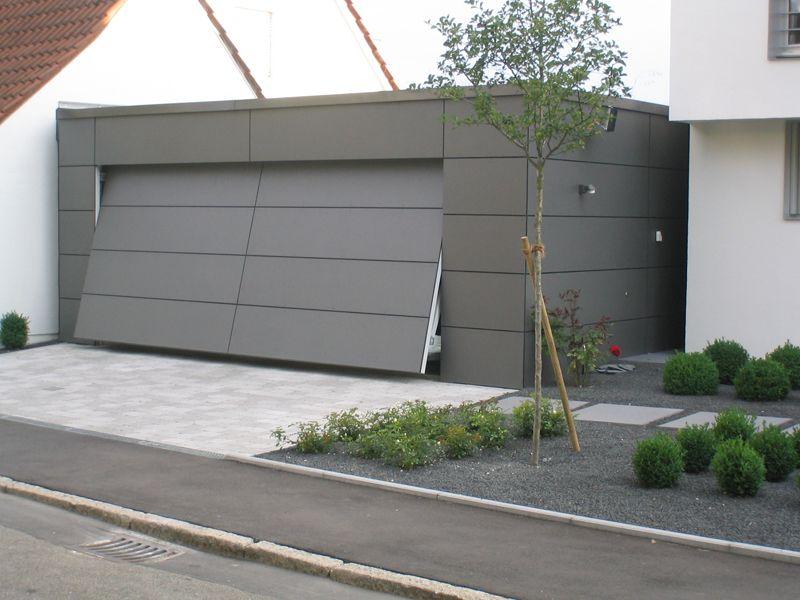 Tipos de portas: porta basculante