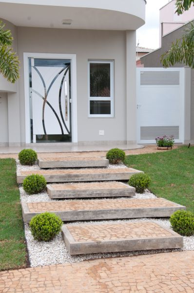 Tipos de portas: porta de vidro
