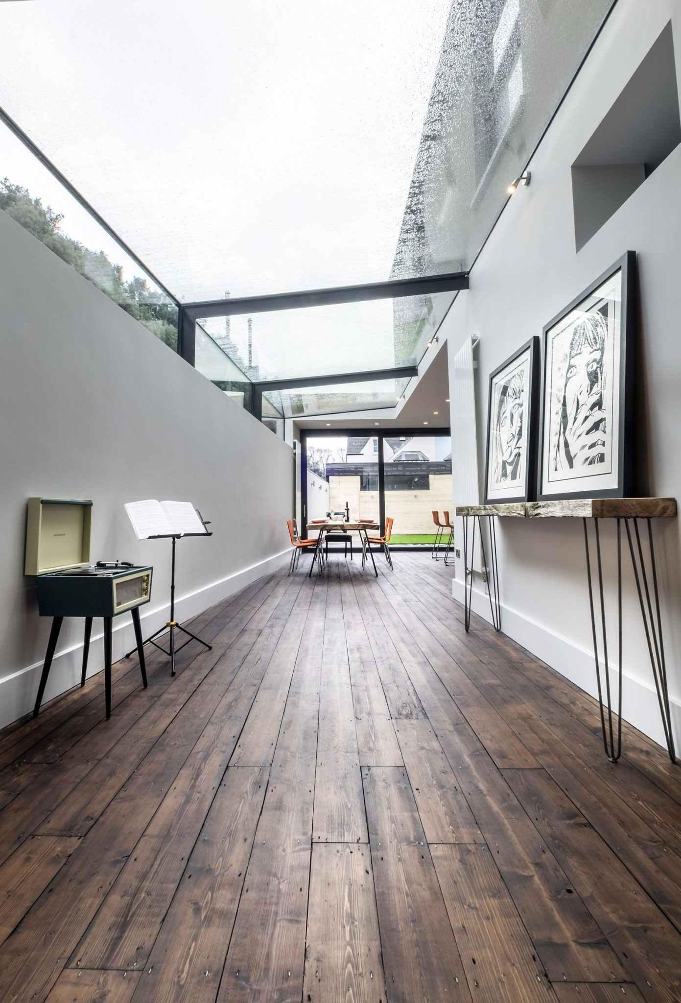 Tipos de telhados: telhado de vidro