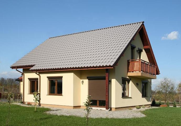 Tipos de telhados: telhado de 2 águas